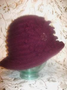 Вязаные шляпки для женщин
