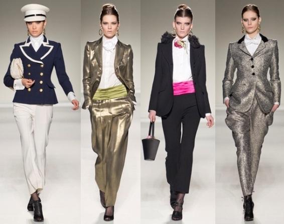 Модные женские брюки осень-зима 2011.