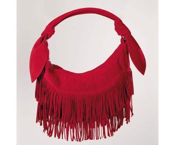 Красный цвет в одежде- сумка