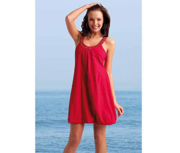 Красный цвет в одежде - платье