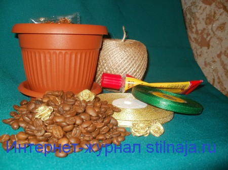 мастер-класс кофейное дерево своими руками с пошаговыми фото 2