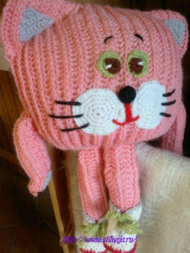 Кот подушка игрушка своими руками