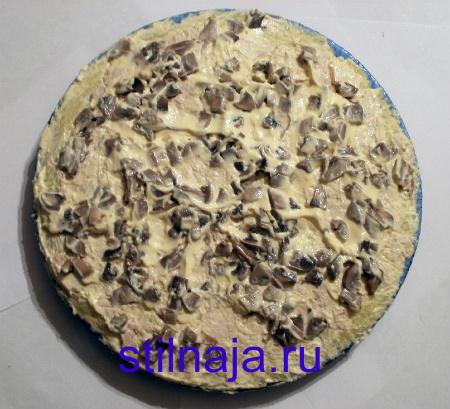 салат Подсолнух, рецепт с чипсами фото 3