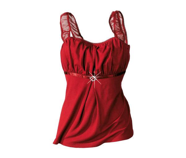 Красный цвет в одежде - топ