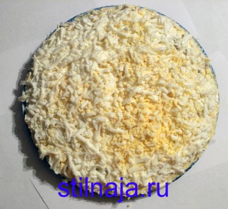 салат Подсолнух, рецепт с чипсами фото 5