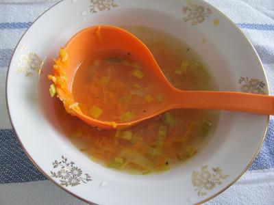 приготовлениеморковно-имбирного супа-пюре фото 8