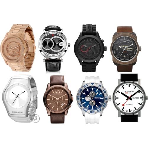 Модные мужские часы 2012