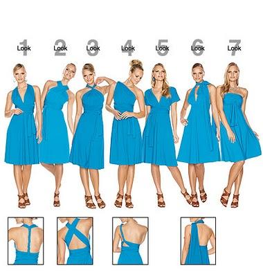 Платье трансформер фото.