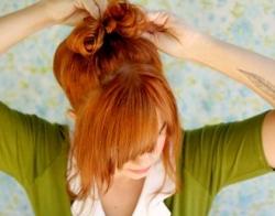 Банты из волос своими руками