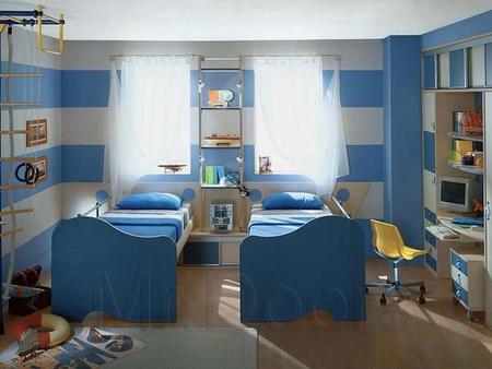 Дизайн детской комнаты для подростка.