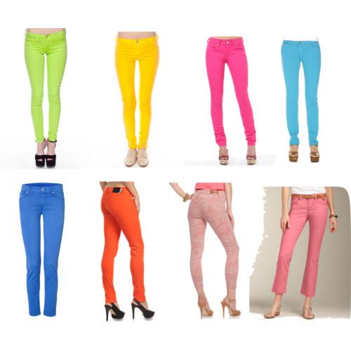 Какие модные джинсы