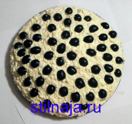 салат Подсолнух, рецепт с чипсами фото 6