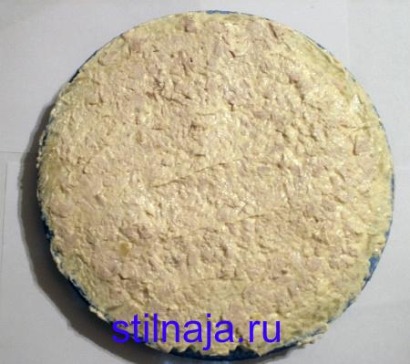 салат Подсолнух, рецепт с чипсами фото 2