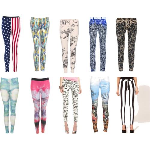 Какие джинсы модны в 2012 году