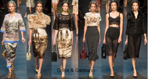 Модные юбки весна 2014