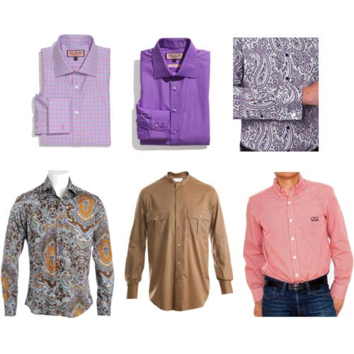 Модные мужские рубашки 2011.