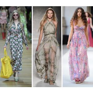 Модные летние платья и сарафаны.