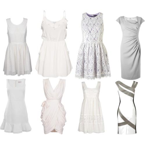 Белое летнее платье в пол