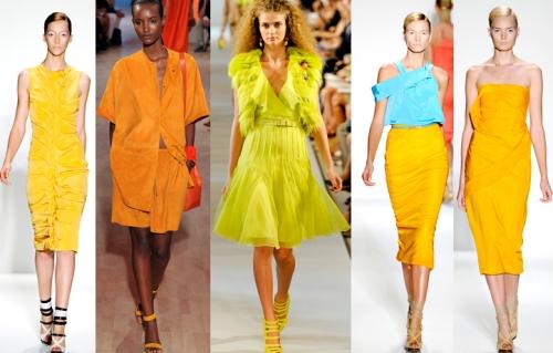 Тренды весна лето 2012 платья