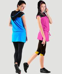 Модная женская одежда для фитнеса.