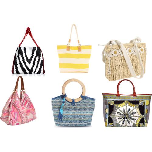 Вязаные летние сумки