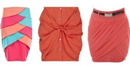 Модные женские юбки фото