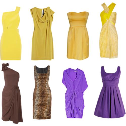 Модные коктейльные платья.